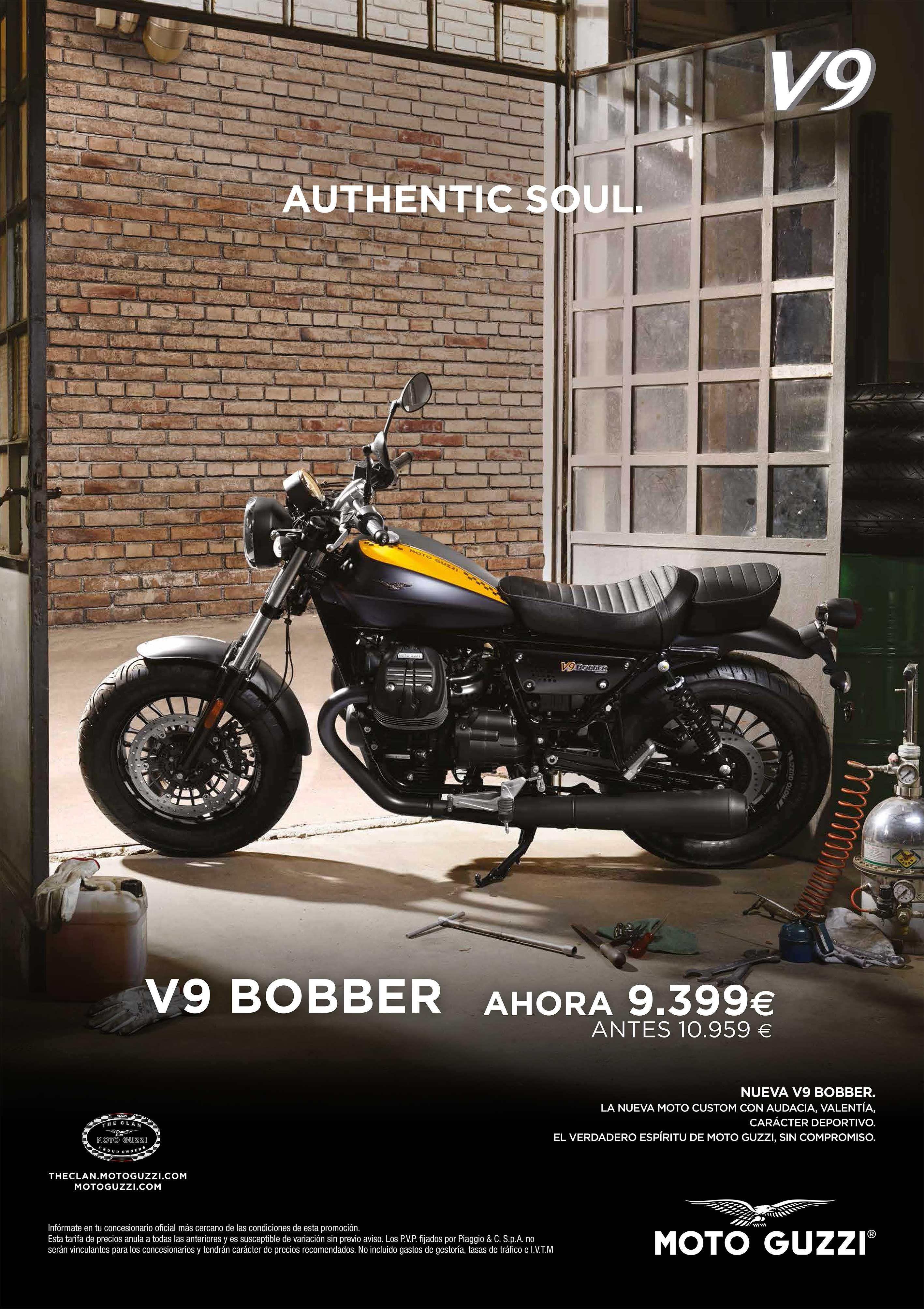 Moto Guzzi V9 Bobber por 9.399€
