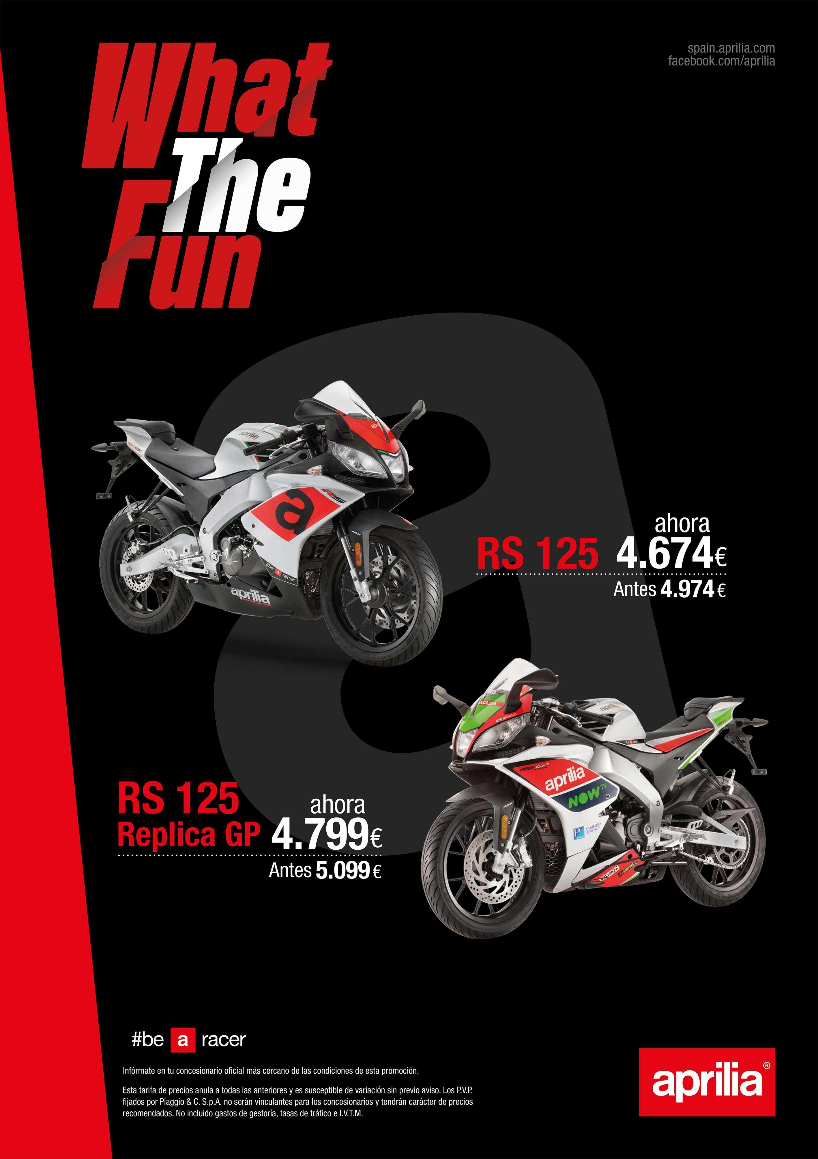 Aprilia RS 125 desde 4.674€