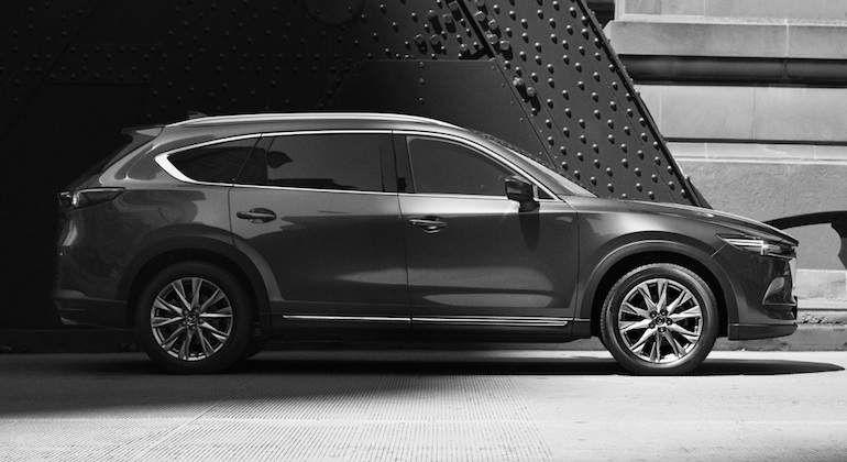 El Mazda CX8 saldrá a la luz a final de año en el mercado nipón