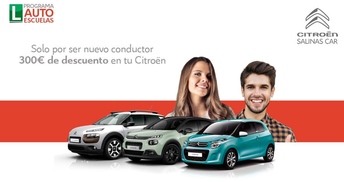 Salinas Car con los nuevos conductores y las autoescuelas
