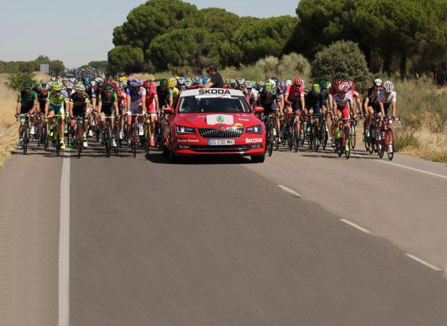 Skoda, Vehículo Oficial de la Vuelta por séptimo año consecutivo