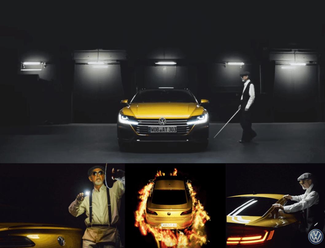 El fotógrafo ciego Pete Eckert presenta el nuevo Volkswagen Arteon con imágenes únicas