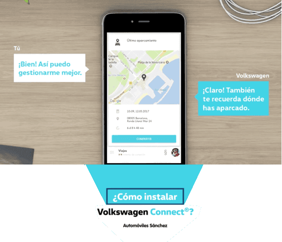 Ya está disponible Volkswagen Connect, el nuevo asistente virtual para facilitar la vida del conductor