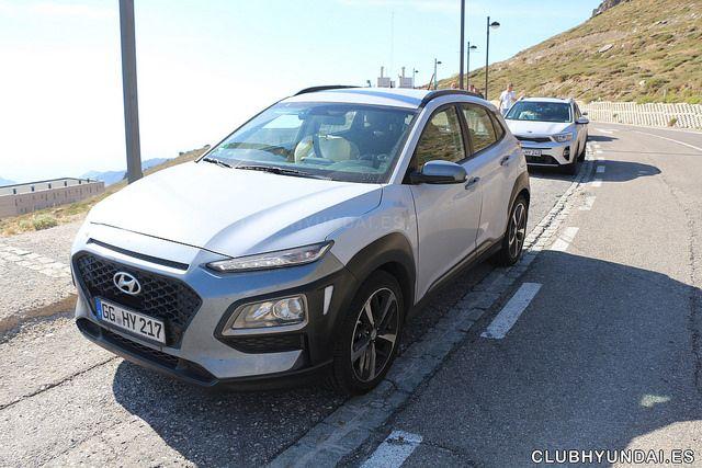 Hyundai Kona en la prueba del i20 Coupe