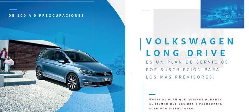 Llega Volkswagen Long Drive. Una forma cómoda y segura de mantener a punto tu volkswagen