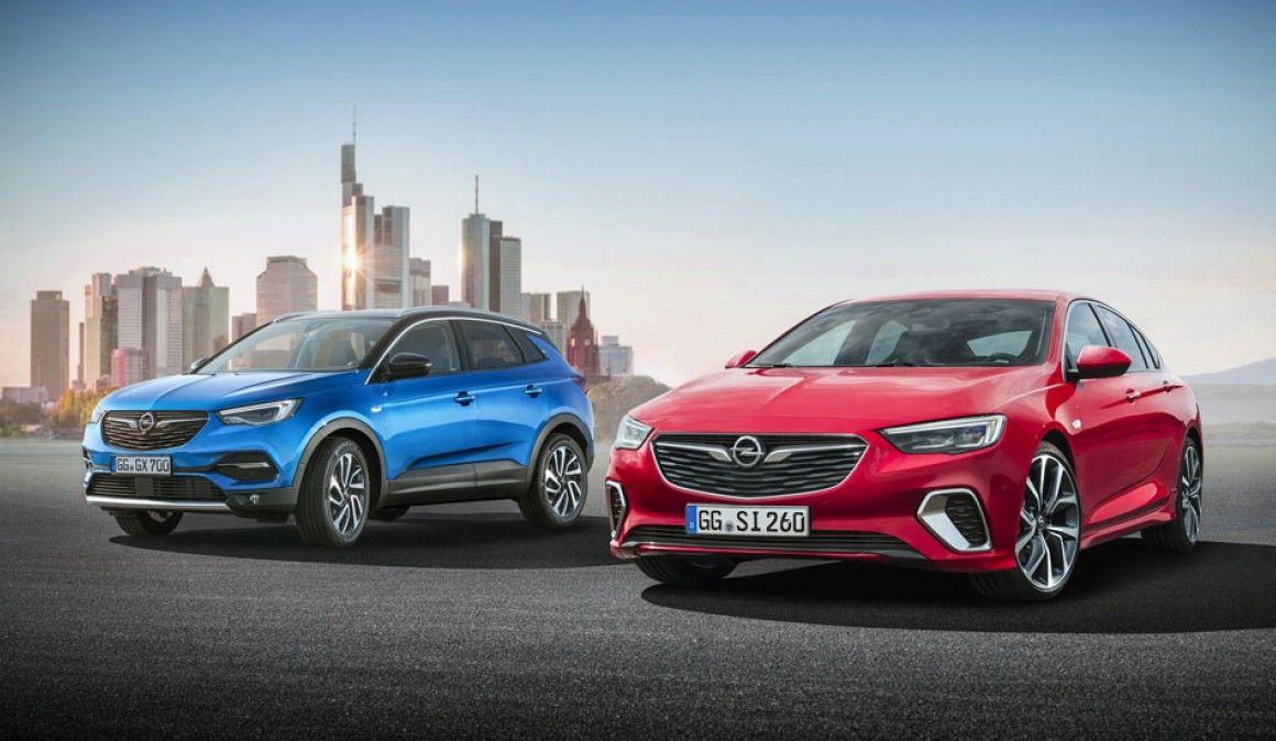 Opel presenta en el Salón de Frankfurt sus novedades: Insignia GSi y Grandland X