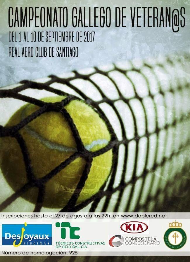 Compostela Concesionario patrocina el primer Campeonato Gallego de Veteranos/as de Tenis del Real Aeroclub de Santiago de Compostela