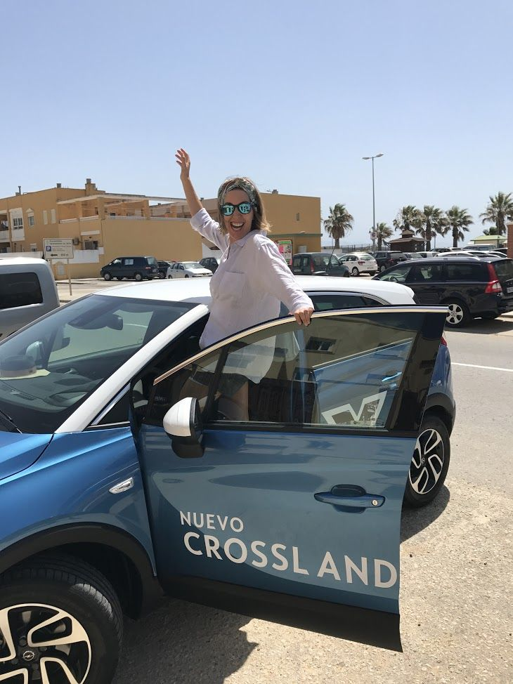 Maripi Robles. Embajadora Crossland X