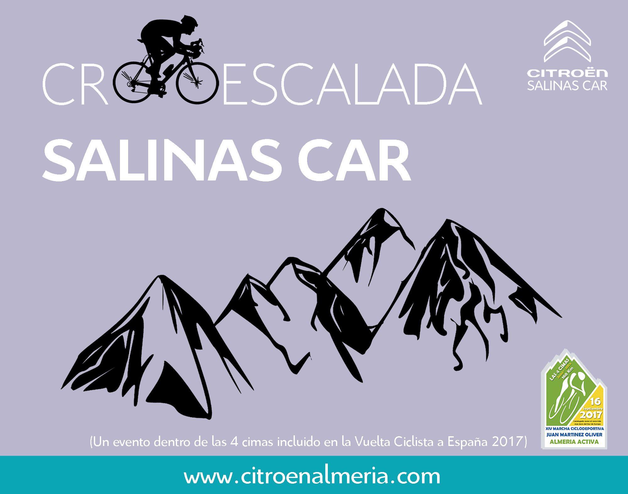 Citroën Salinas Car patrocinador oficial de la Marcha Cicloturista Martínez Oliver