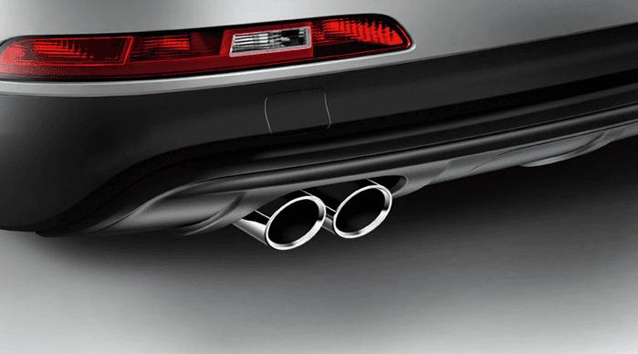Embellecedor escape Audi Q3