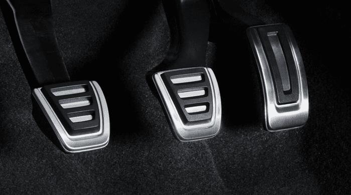 Fundas de pedales en acero inoxidable Audi Q3
