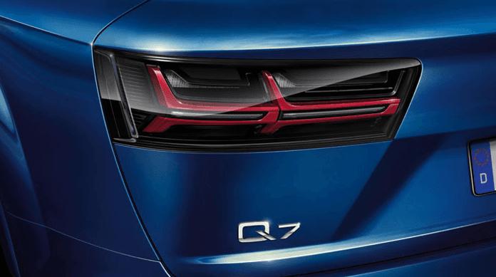Luces traseras led opacas Audi Q7