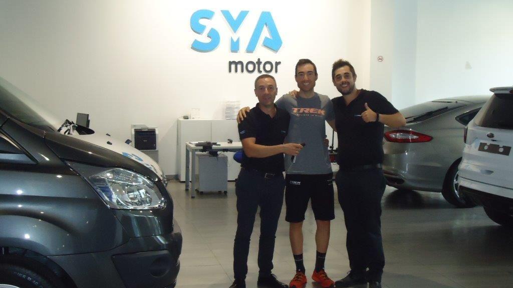 Sergio Mantecón elige Sya motor Ford