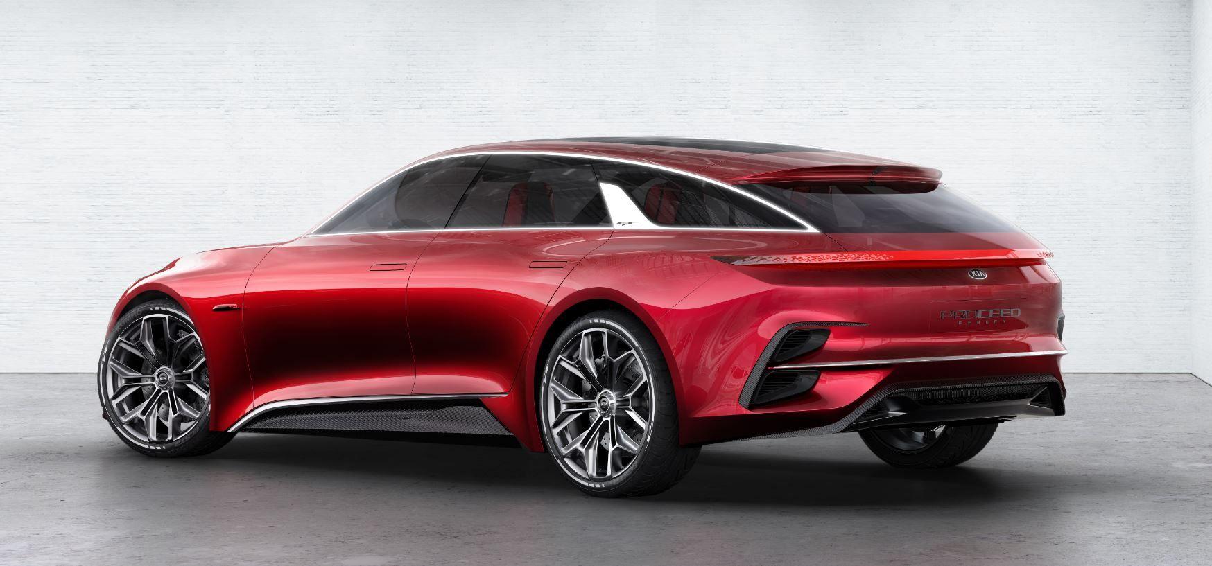 Conoce el Kia Proceed Concept que ha acaparado todas las miradas en el Salón de Frankfurt 2017