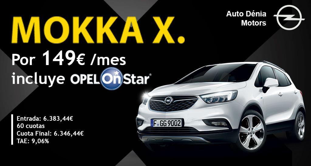 Opel Mokka X por 149€ al mes