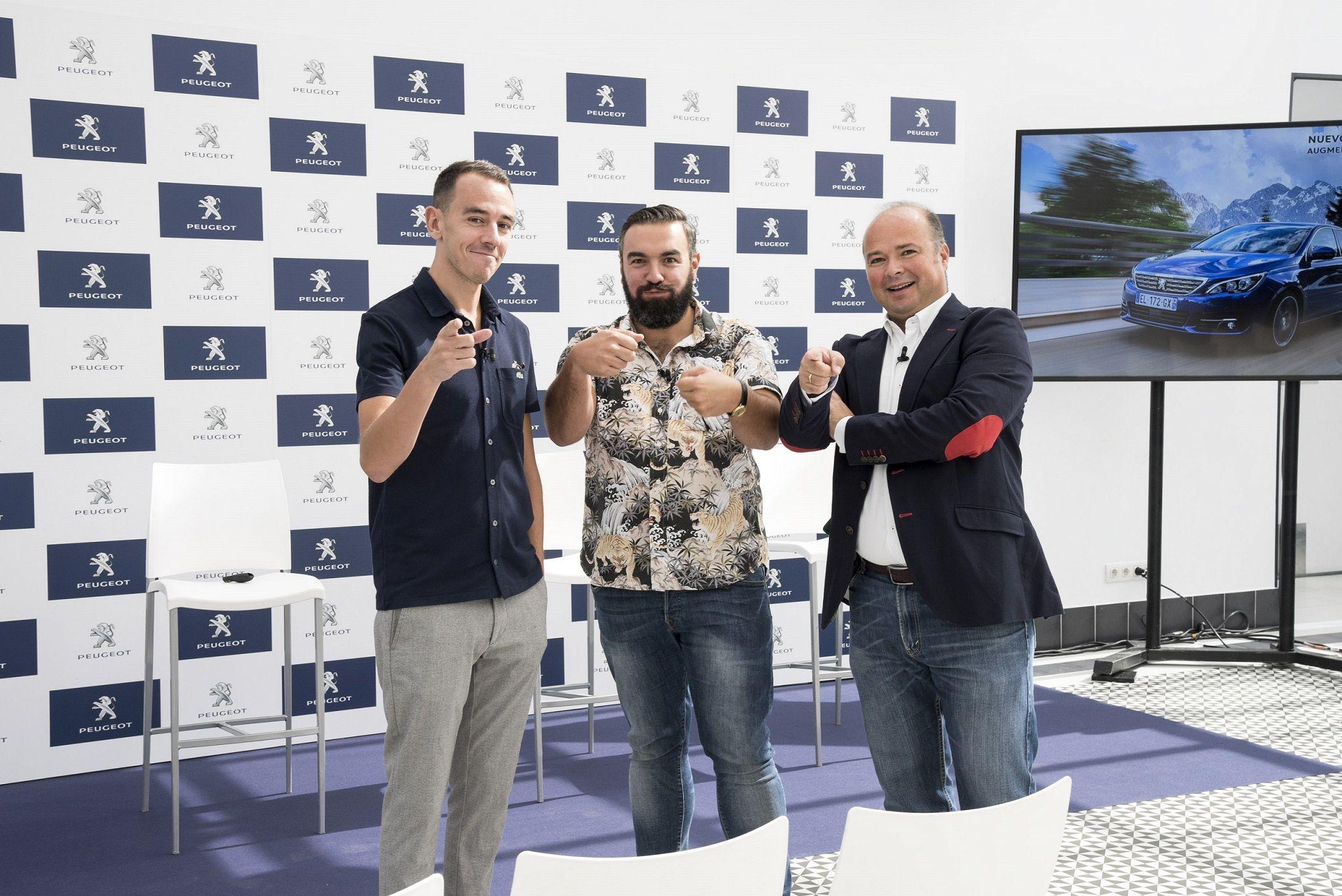 El Carballés Rober Bodegas junto con Peugeot para concienciar de la importancia de las nuevas Funciones de Ayudas a la Conducción