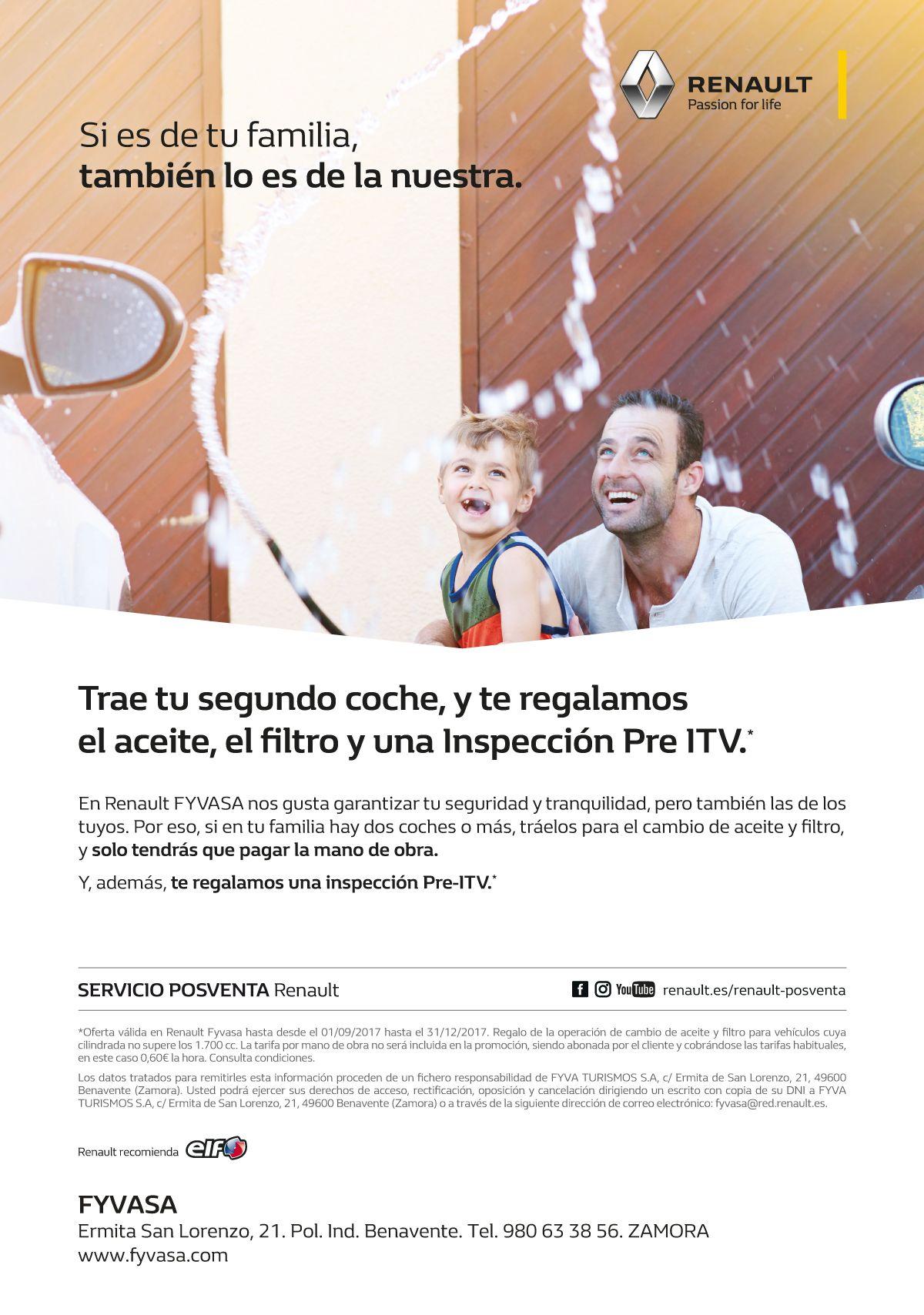 BASES LEGALES DE PROMOCIÓN REGALO ACEITE Y FILTROS