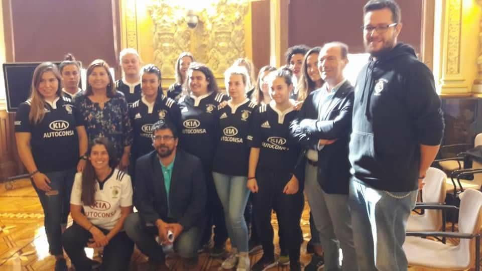 Rugby contra la violencia de género en Valladolid