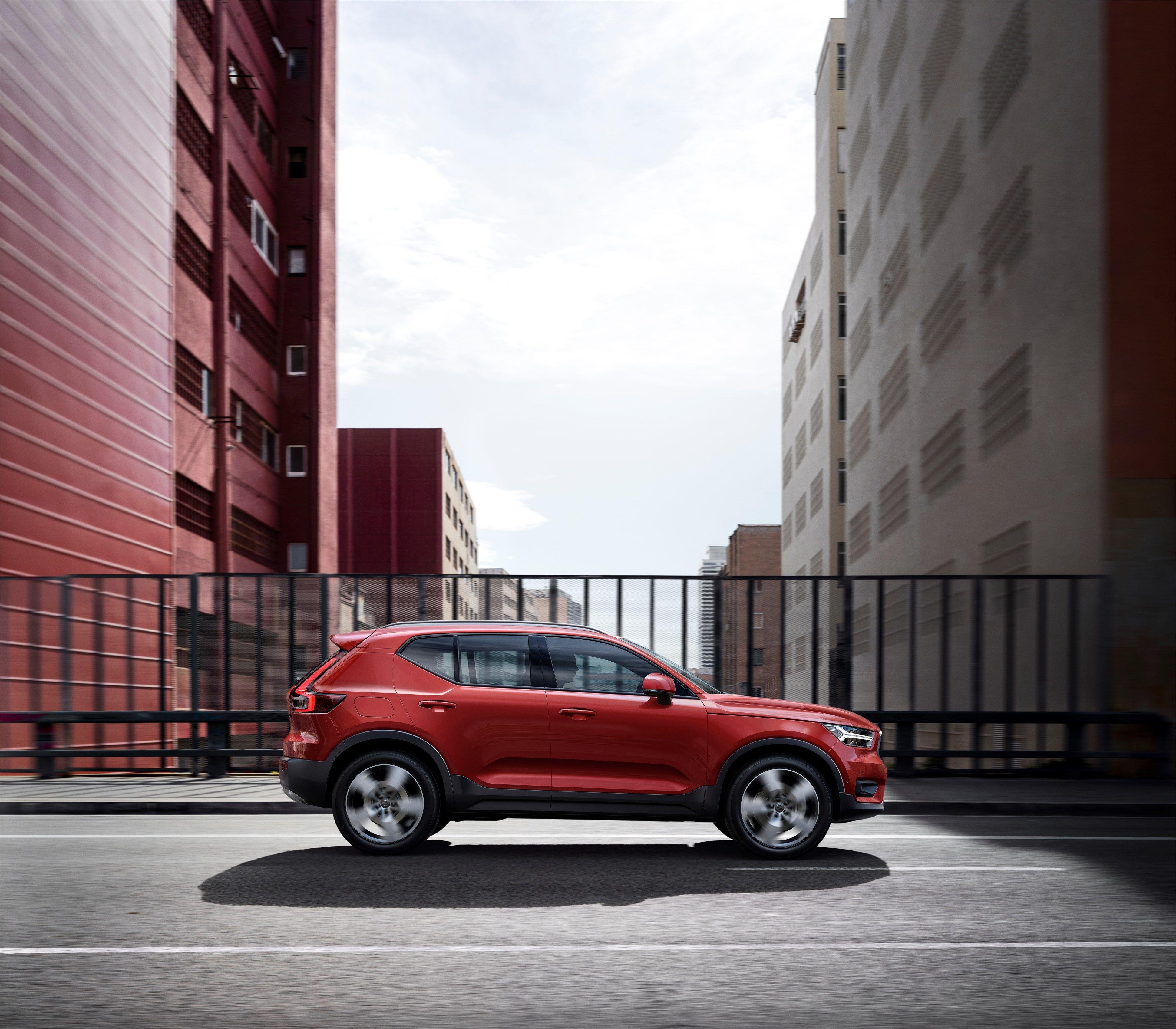 Nuevo XC40, otro miembro en la completa la gama de los SUV premium de Volvo