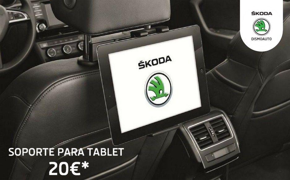 Soporte para tablet   | Accesorios Originales Skoda |