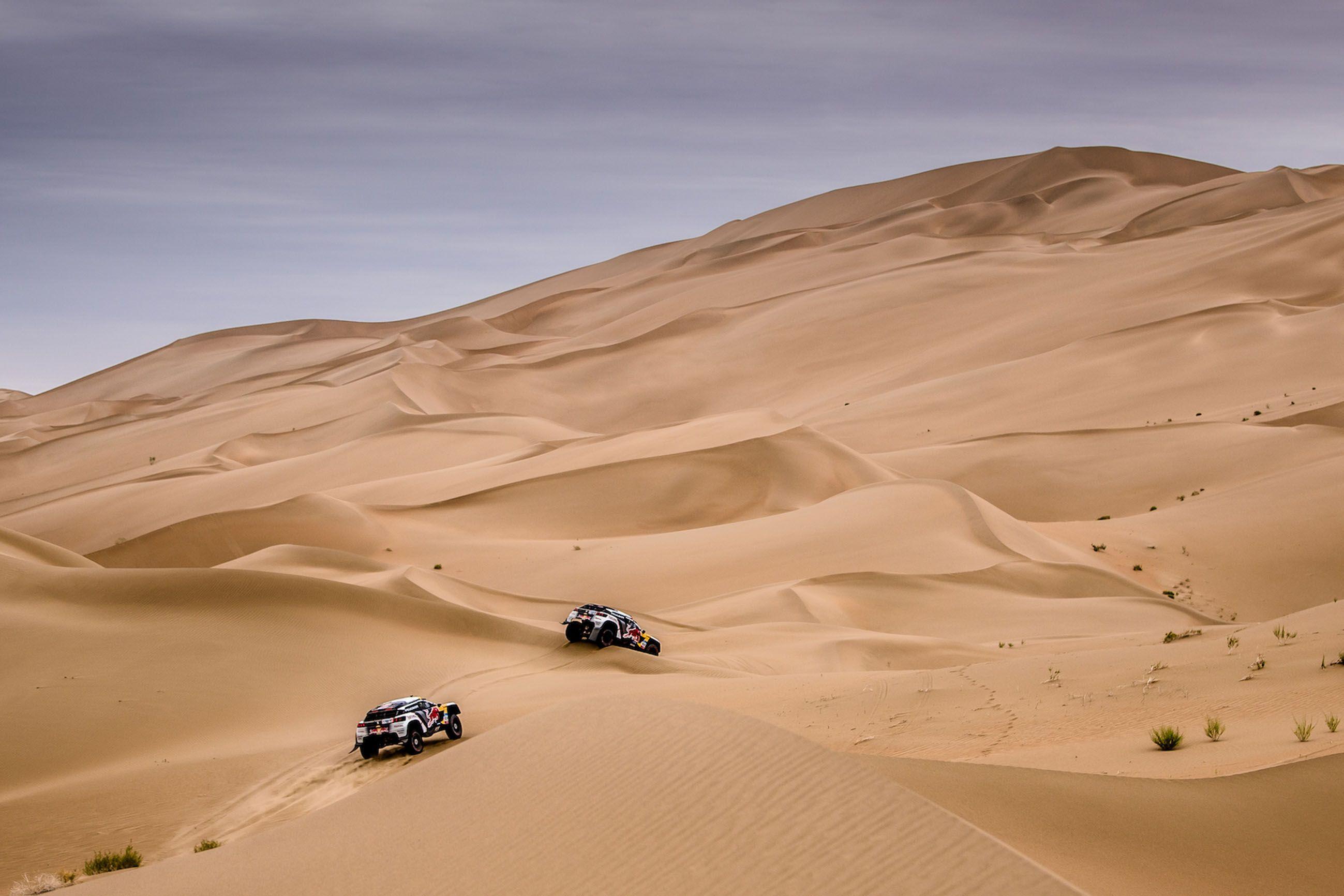 Los Peugeot 3008DKR llegan a Marruecos con ambición y ganas de aprender