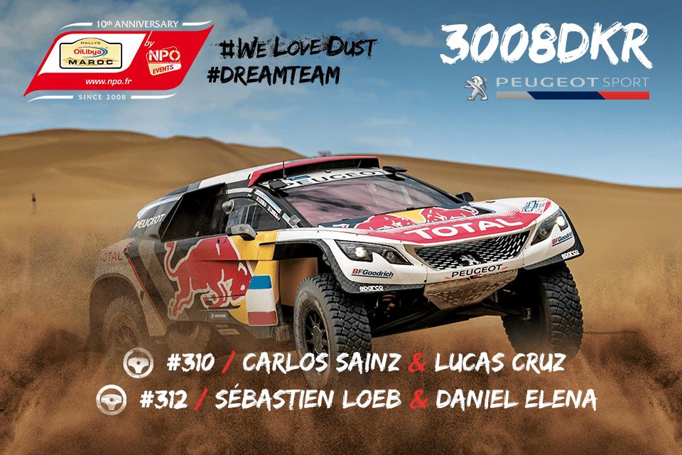 Los Peugeot 3008DKR, listos para un nuevo desafío en Marruecos