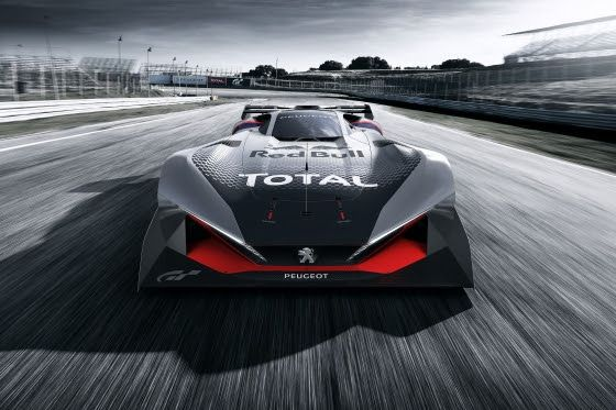 Peugeot L 750 R Hybrid Vision Gran Turismo, nueva versión coincidiendo con el videojuego para PlayStation que saldrá el 18 de octubre