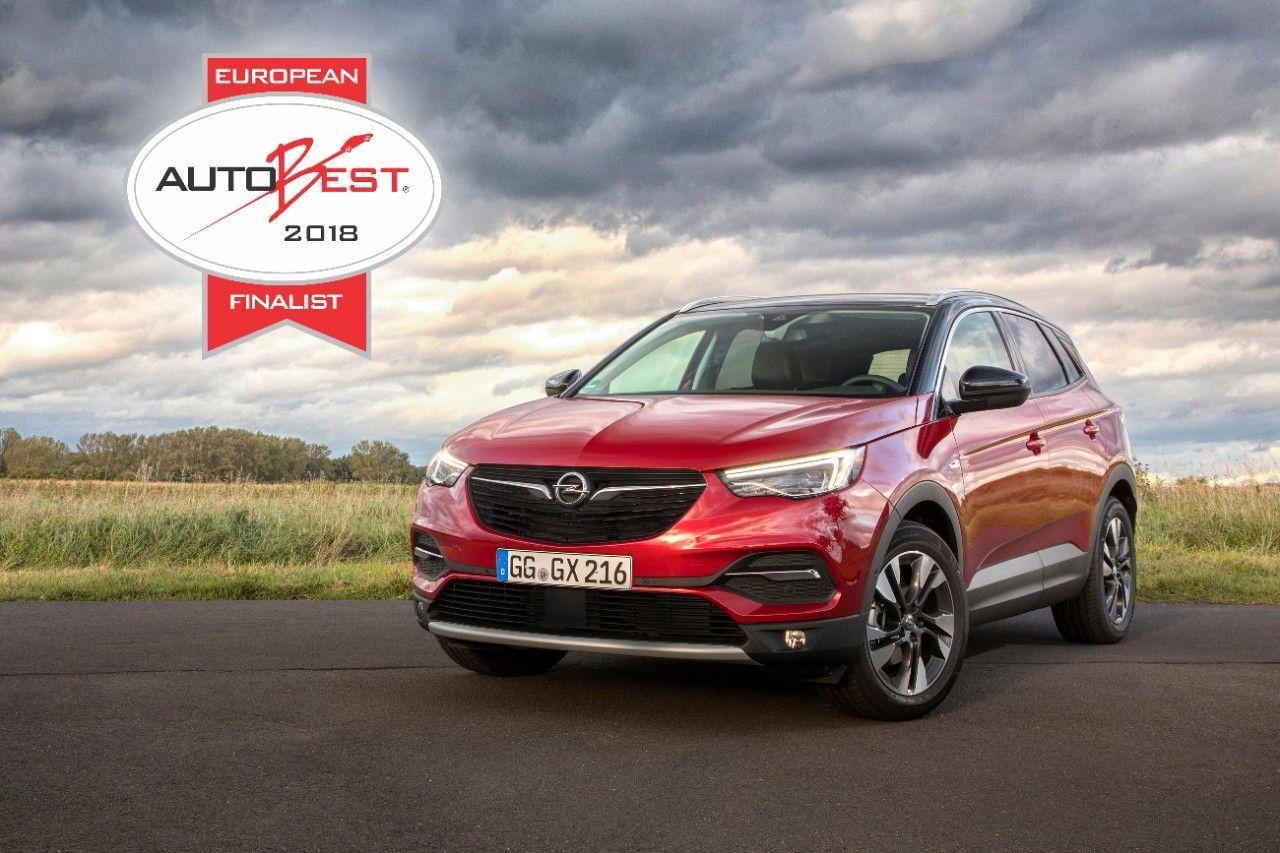 El Opel Grandland X entra en la lista de finalistas de Autobest 2018