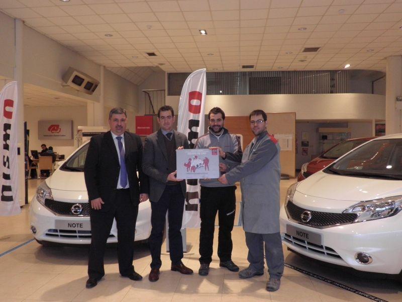 Comercial Arre Motor recibe un galardón de los premios del EQUIPO DE ORO