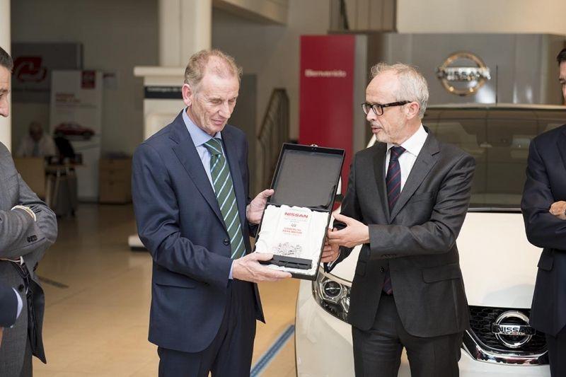 Comercial Arre Motor se ha clasificado entre los tres primeros mejores concesionarios de Nissan en España en ventas y calidad