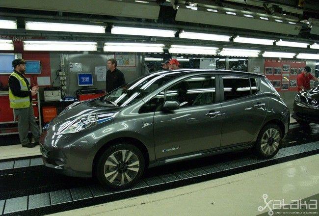 Así se fabrica un coche del siglo XXI en el siglo XXI: el Nissan LEAF