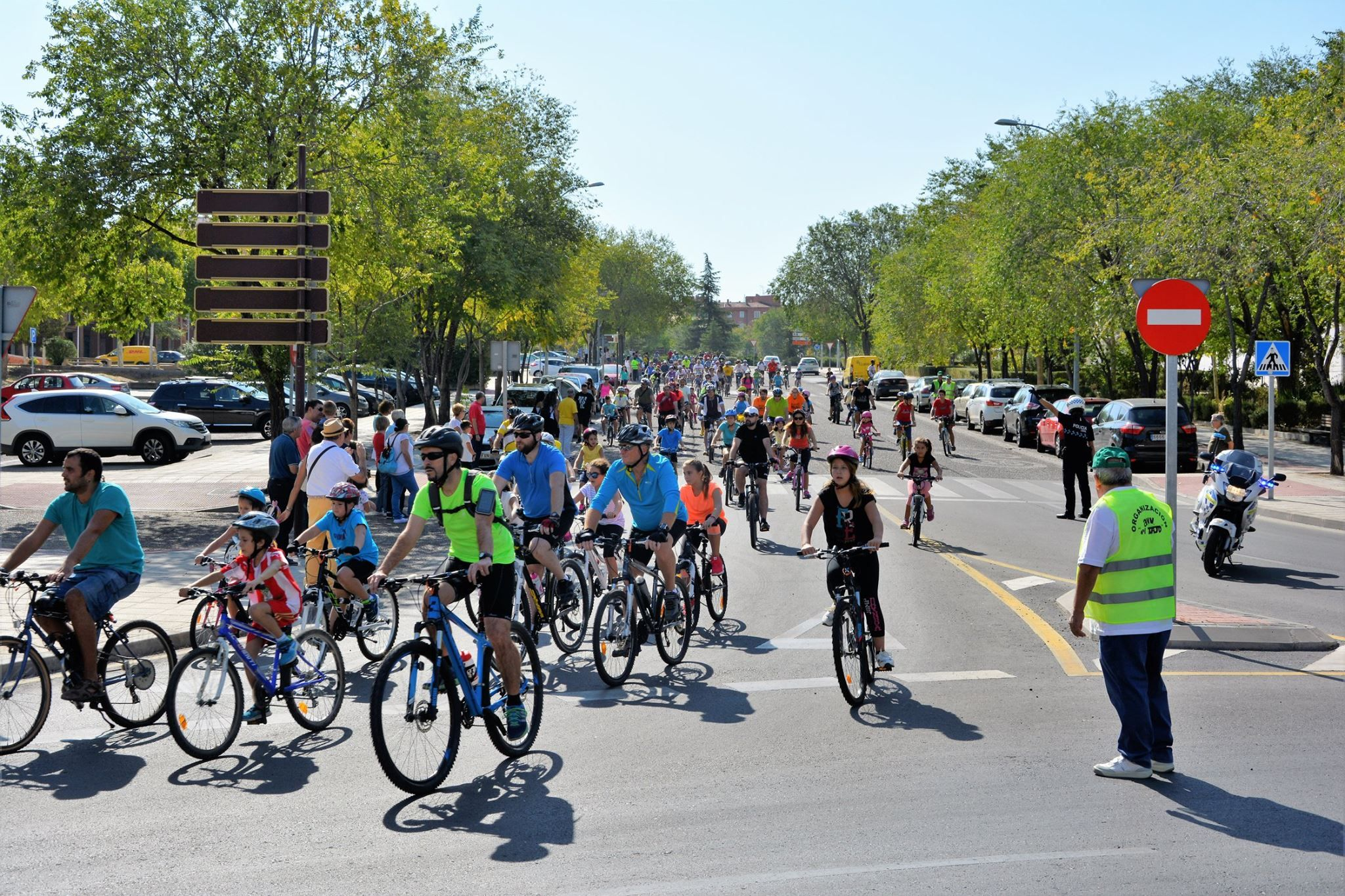 Bonilla Motor patrocina el día de la bicicleta en Santa María de Benquerencia, Toledo