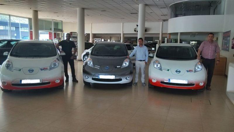 BIGMAT, ya dispone de una flota de vehículos 100% eléctricos.