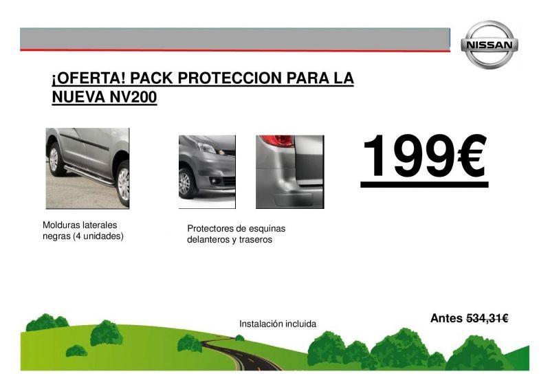 ¡OFERTA! PACK PROTECCION NV200 199€