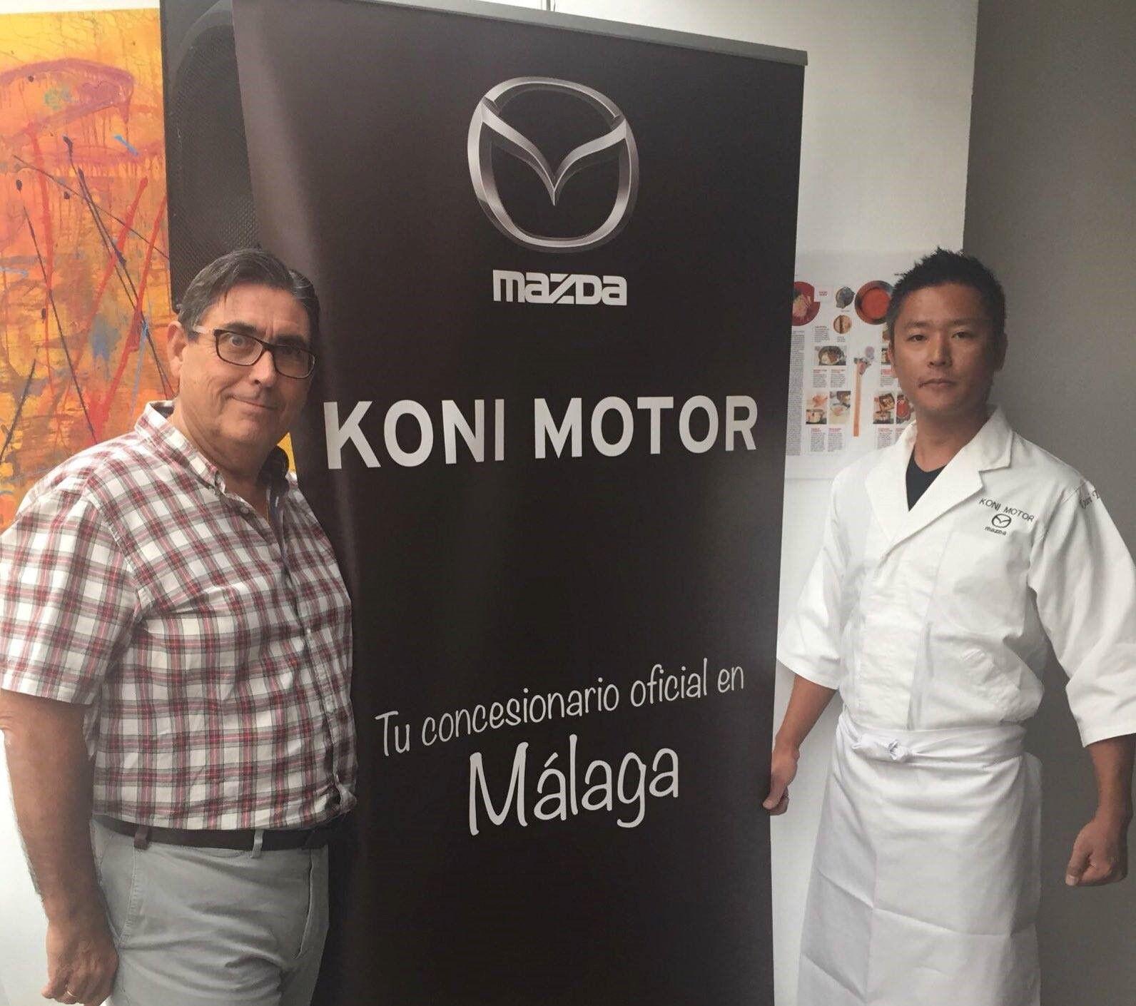 """Koni Motor participa en el Showcooking """"Conocer UMAMI"""""""