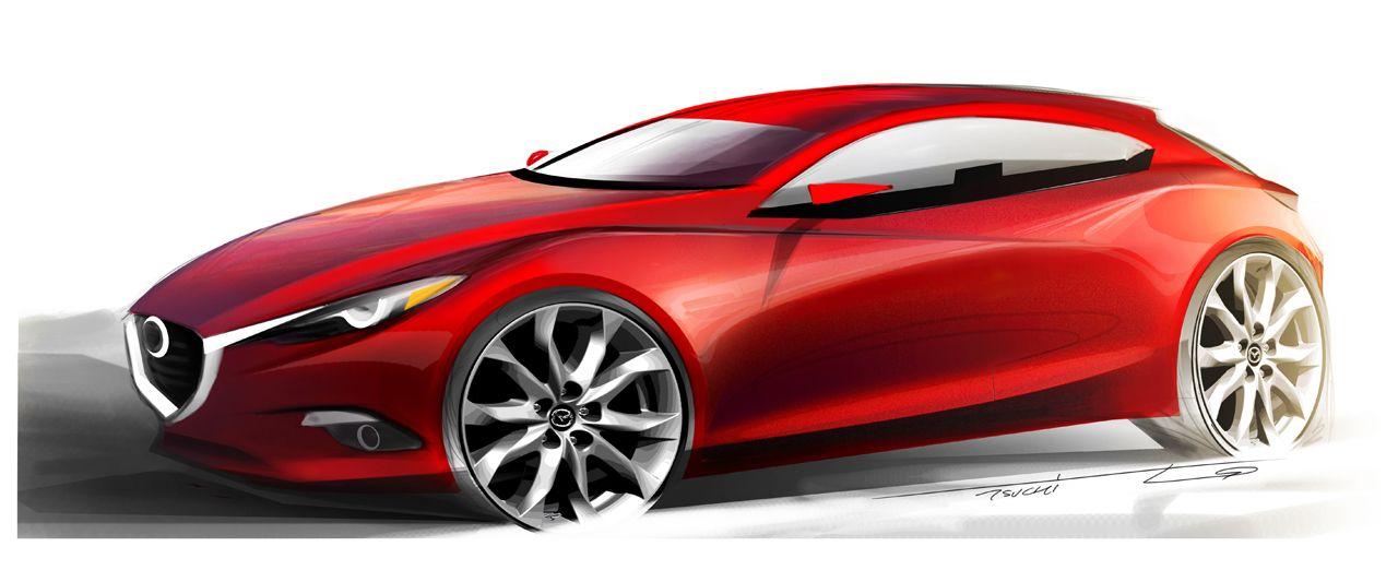 Mazda 3: La futura combinación perfecta.
