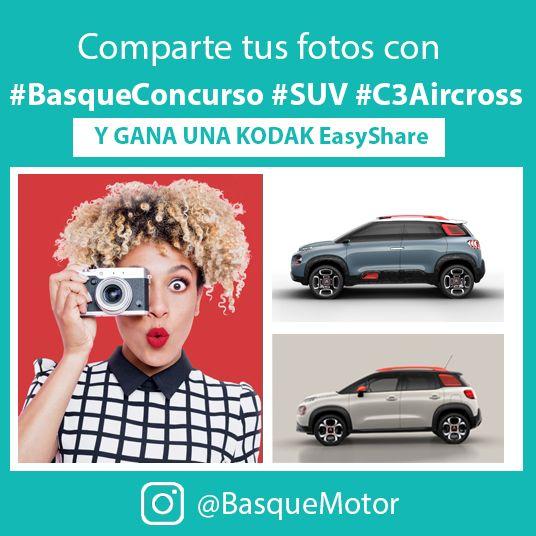 INSTAGRAM: #BasqueConcurso Nuevo #SUV Compacto Citroën #C3Aircross