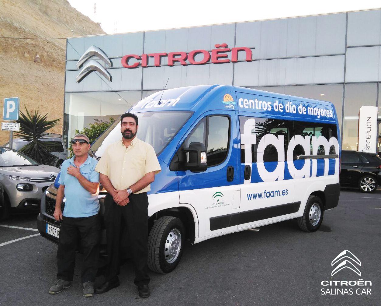 FAAM apuesta por Salinas Car y su transporte adaptado