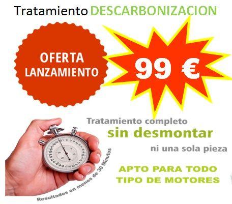 TRATAMIENTO DESCARBONIZACION