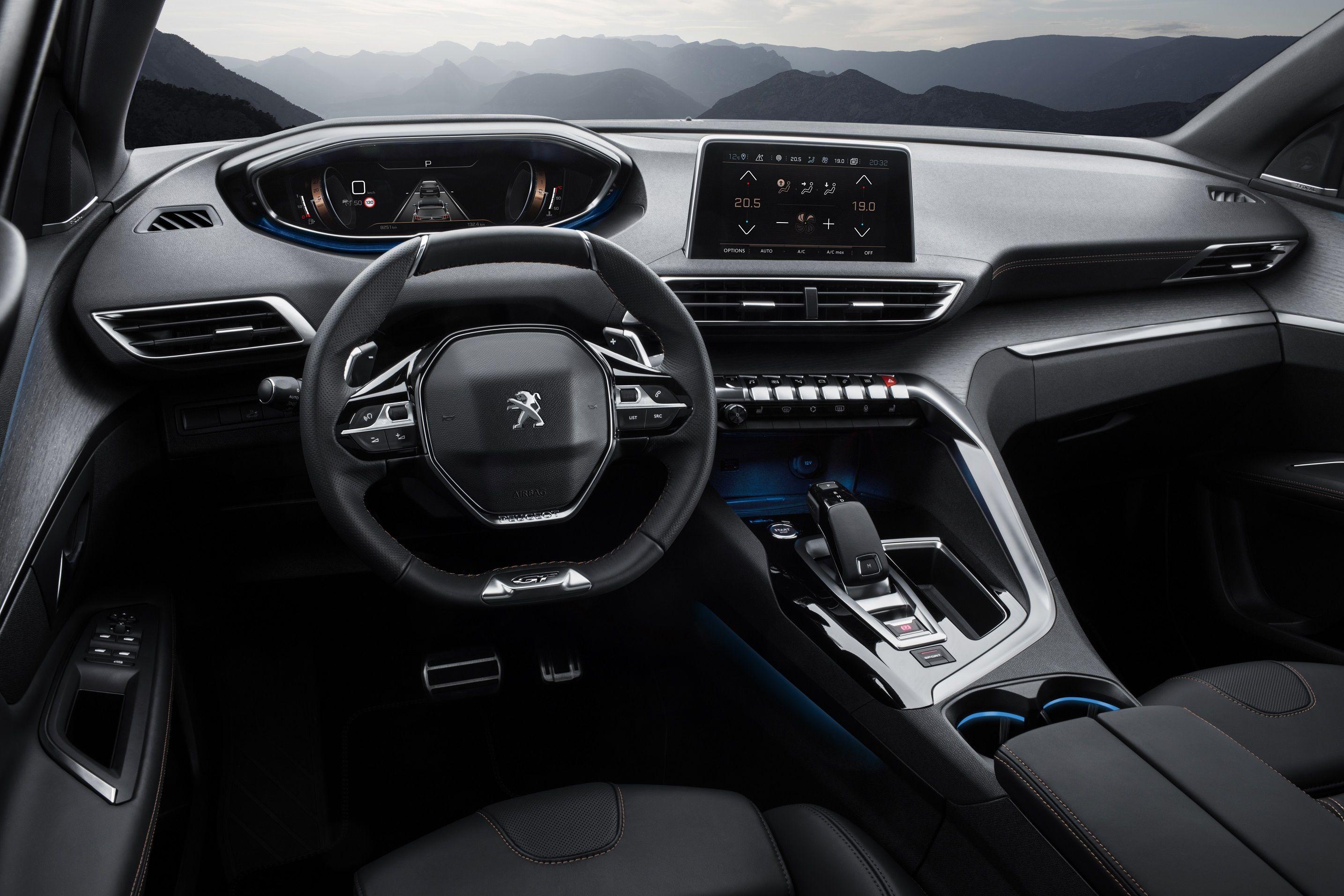 La caja automática EAT8 llega a la gama SUV Peugeot