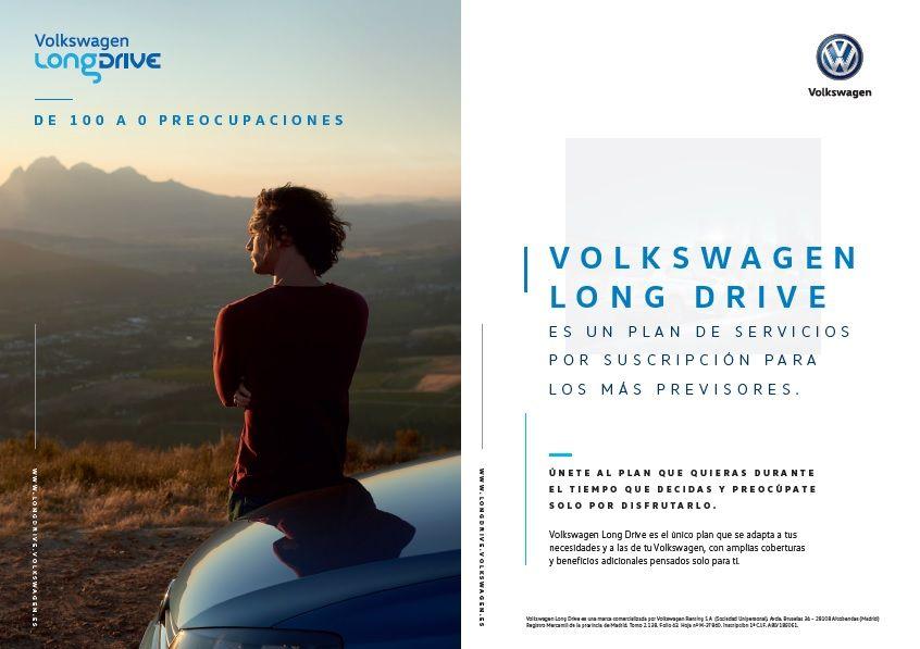 VW LONG DRIVE, EL PLAN QUE SE ADAPTA A TUS NECESIDADES Y A LAS DE TU VOLKSWAGEN