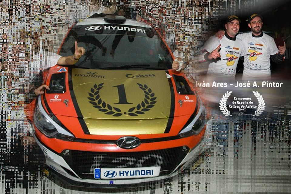 ¿Quieres conocer a Iván Ares y José Pintor pilotos de Hyundai y campeones del Rally de asfalto?
