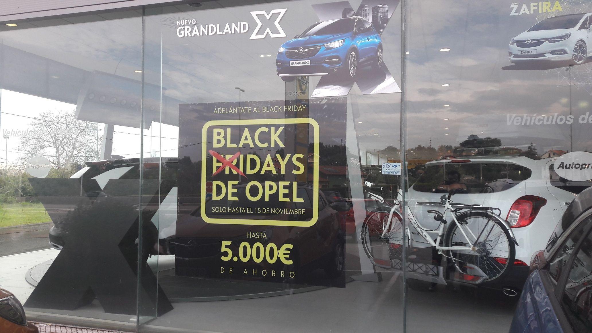 Llegan los BLACK DAYS a Autoprin. ¡SOLO HASTA EL 15 DE NOVIEMBRE! Hasta 5.000 € de ahorro