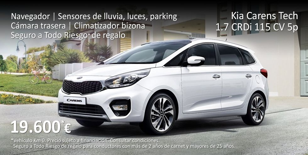 KIA CARENS TECH. SUPER EQUIPADA