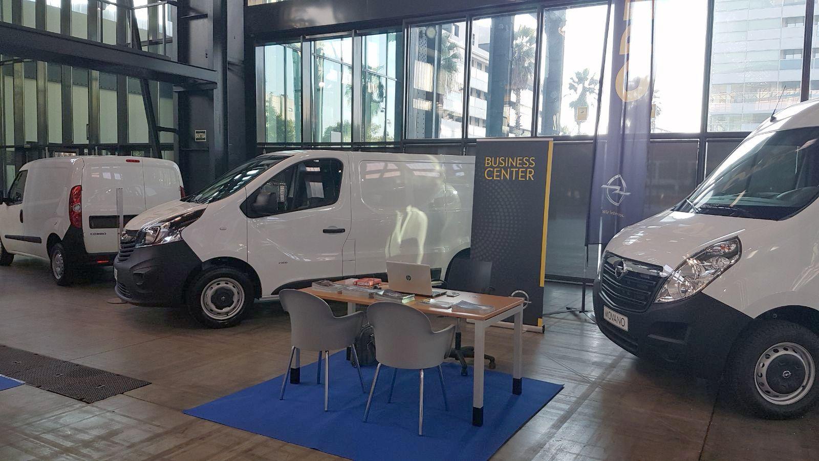 Gama Opel Vehículos Comerciales en la Feria Industrial de Sabadell