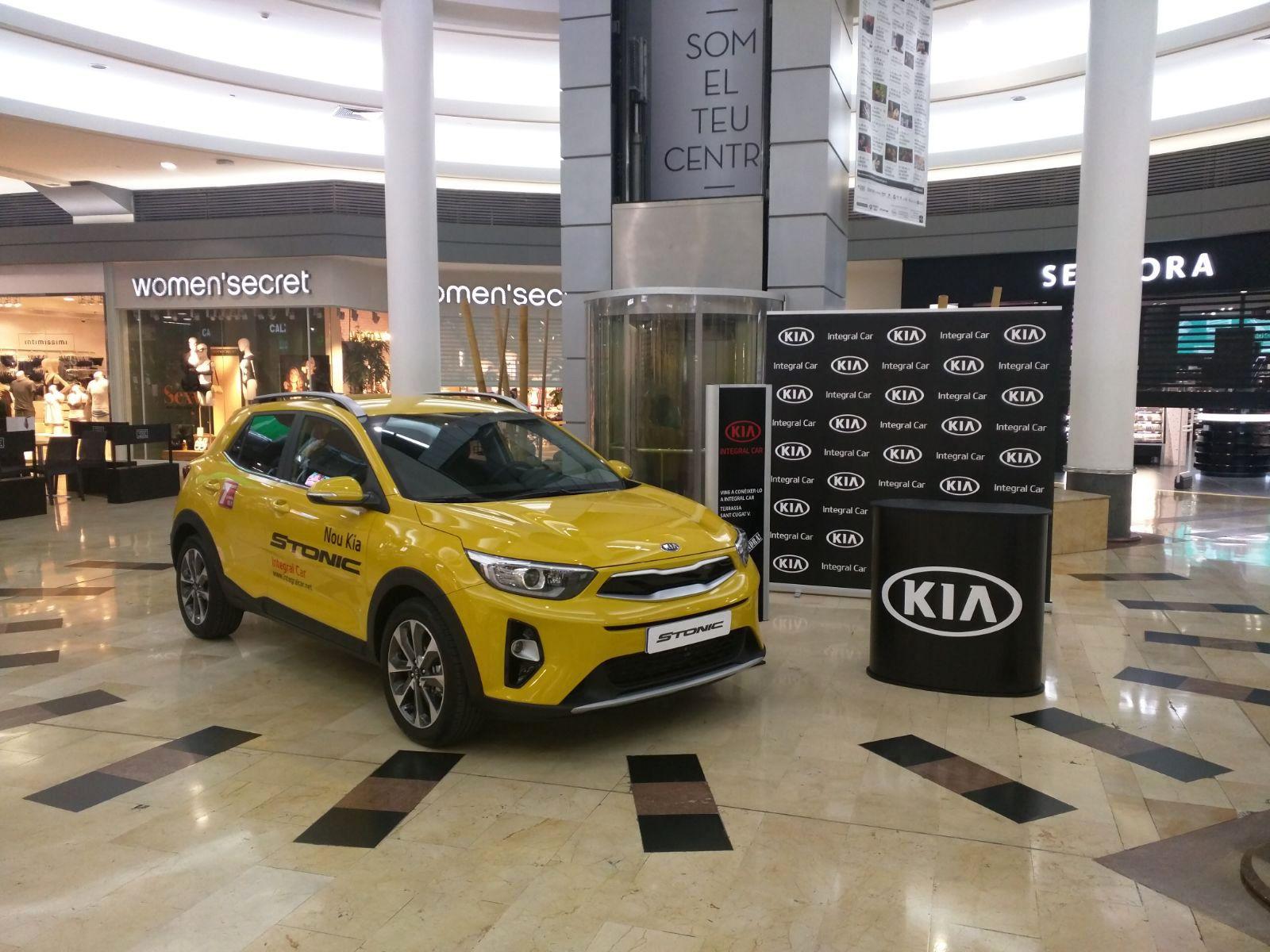 Kia Stonic, protagonista en el Sant Cugat Centre Comercial