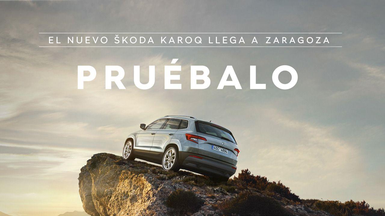 Vuelve la Karavanaq a Zaragoza con el Nuevo Karoq