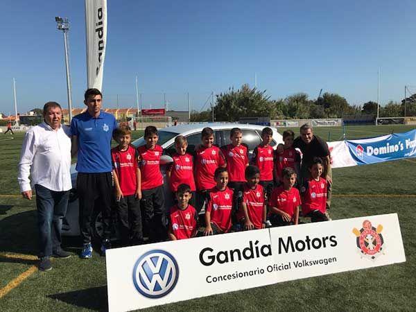 Presentación de los equipos de fútbol base de la U.D. Portuarios