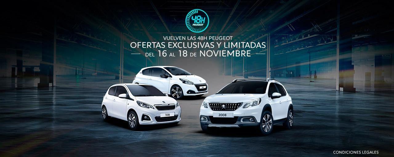48 horas para disfrutar de un Peugeot al mejor precio en DIMOLK. Del 16 al 18 de Noviembre