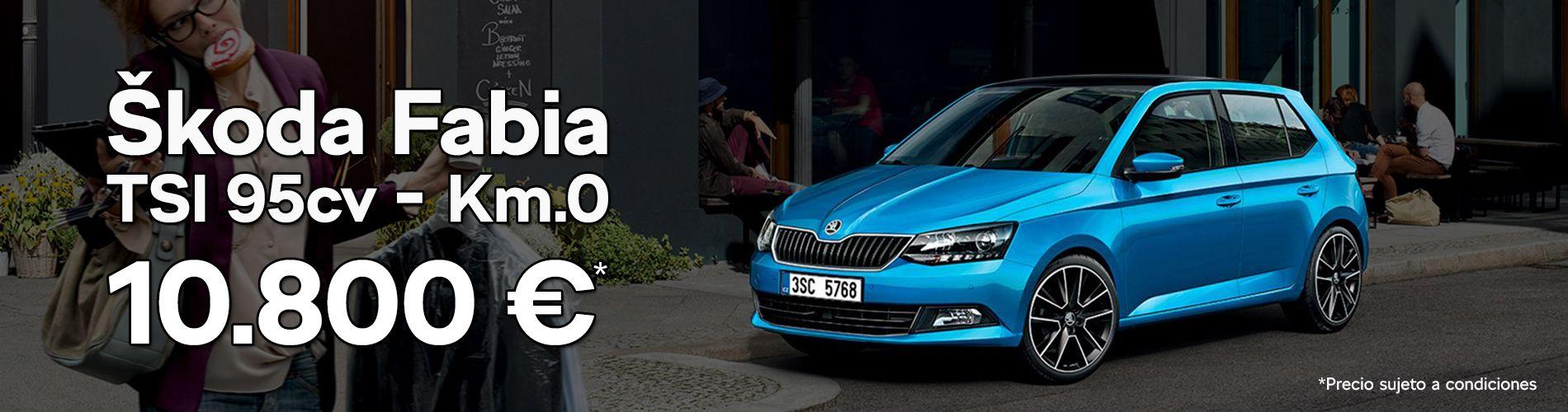 Skoda Fabia Km.0 azul